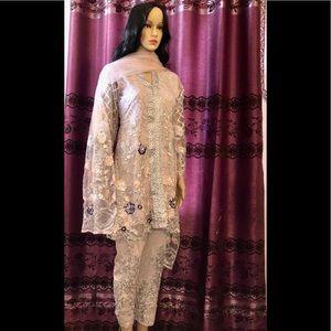 Ready to wear stitched salwar kameez
